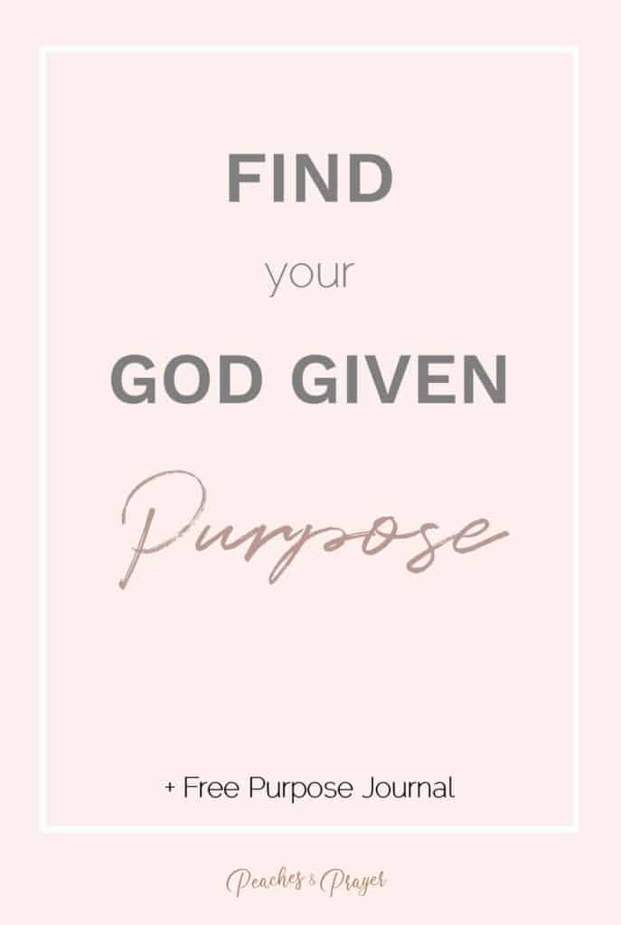 Find your God Given Purpose