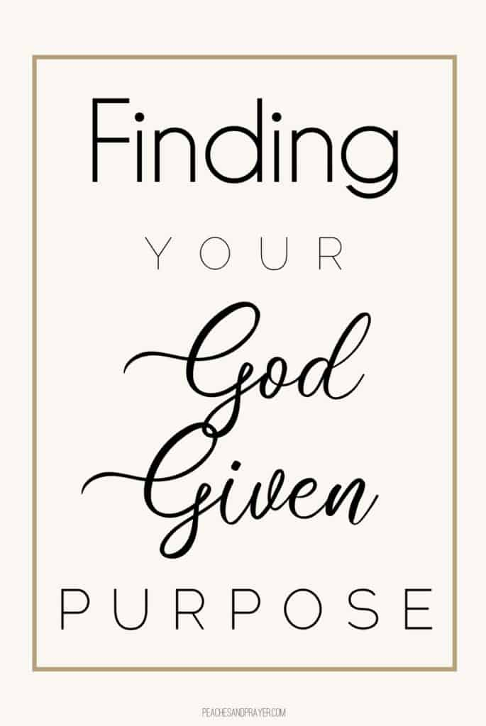Finding God-given Purpose