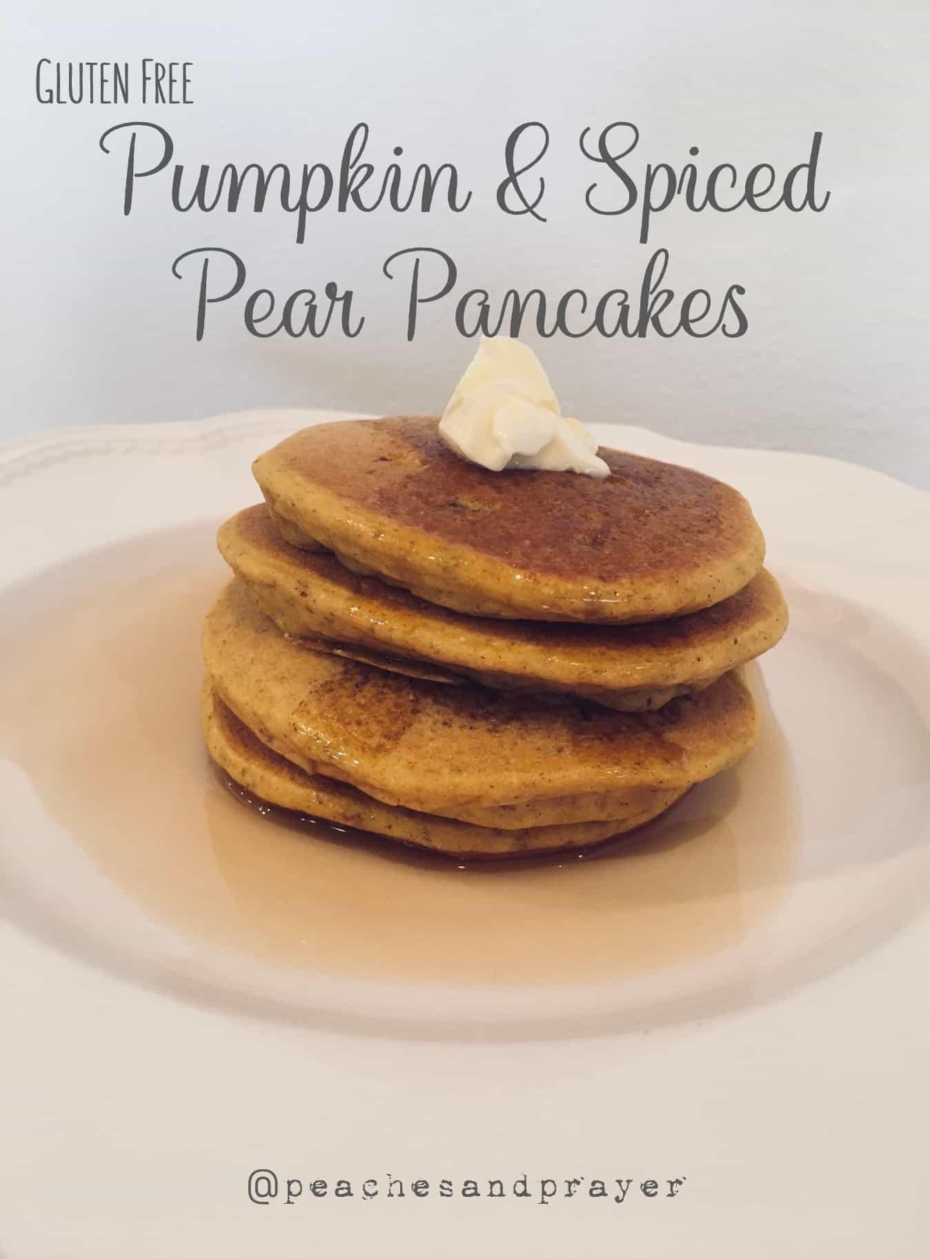 Healthy Pear Pancakes