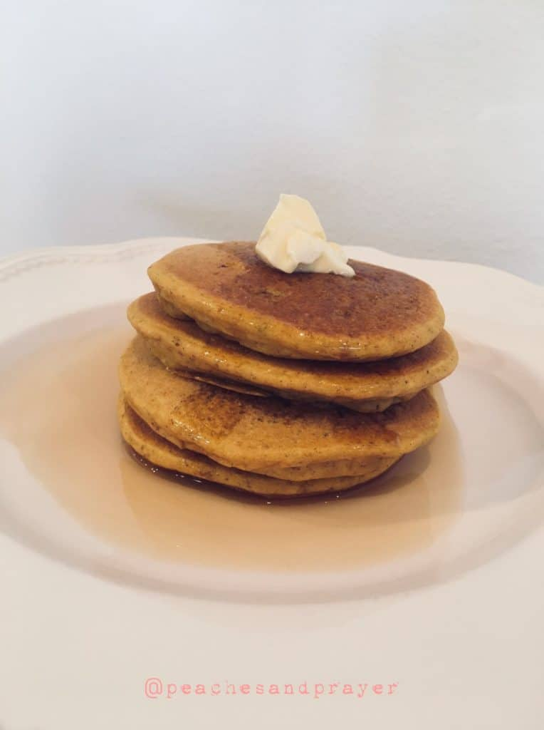 Pumpkin & Spiced Pear Pancakes