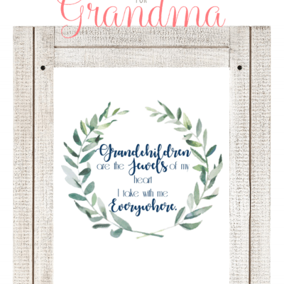 A Meaningful Gift for Grandma