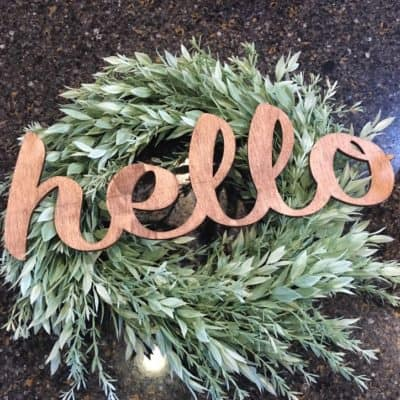 Easy DIY Spring Wreath Decor