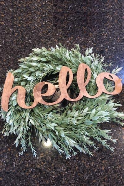 Hobby Lobby Spring Wreath