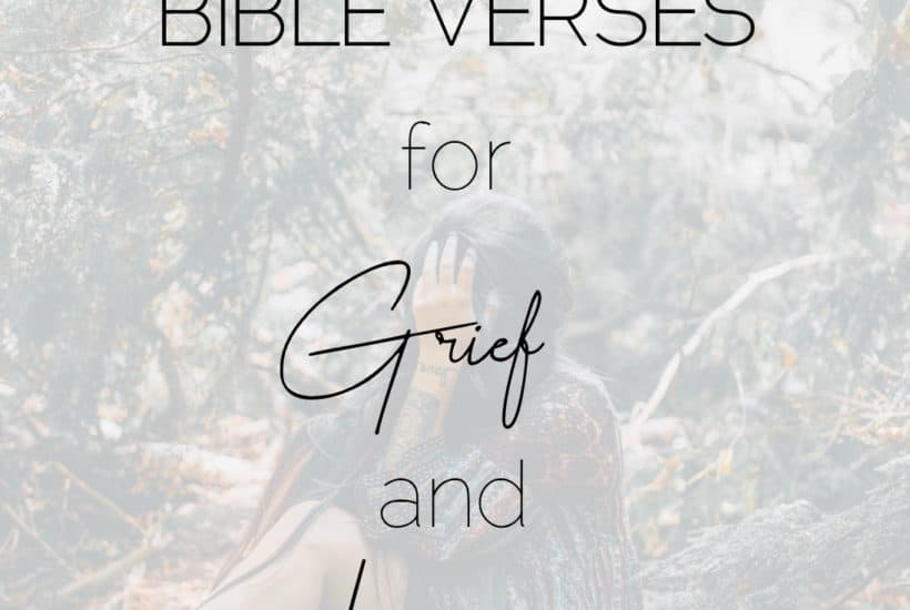14 Bible Verses for Grief and Loss