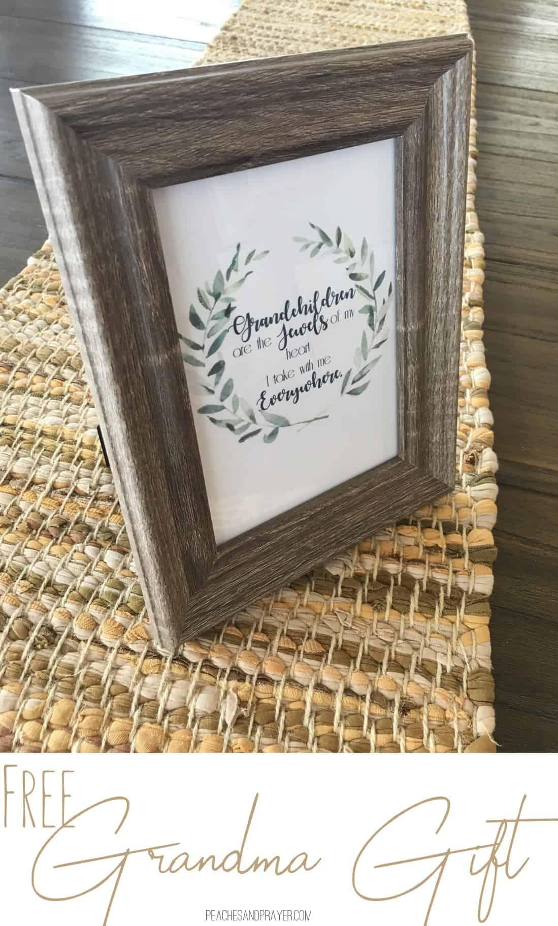 Free Gift for Grandma
