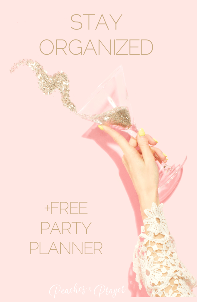 Free Party Planner Printable with Party Planner Schedule