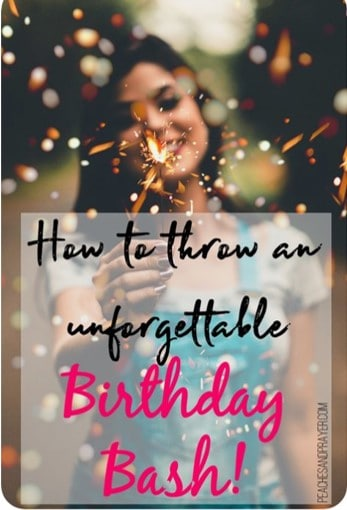 Throw an unforgettable Birthday Party Planning Guide