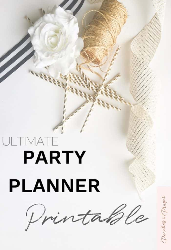 Ultimate Party Planner Printable