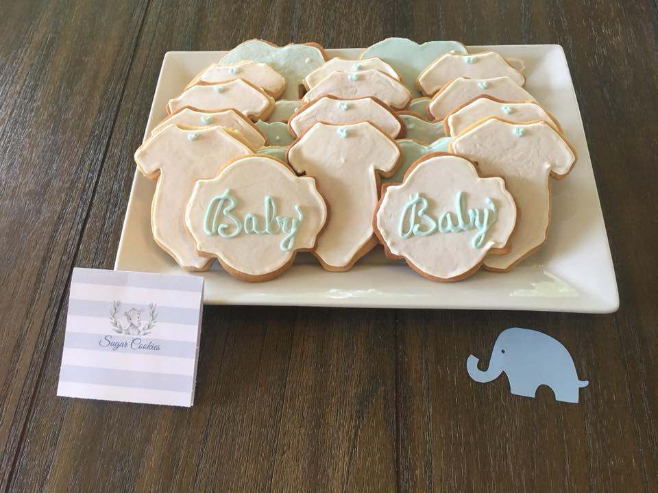 elephant baby shower sugar cookies gluten free sugar cookies party planning guide