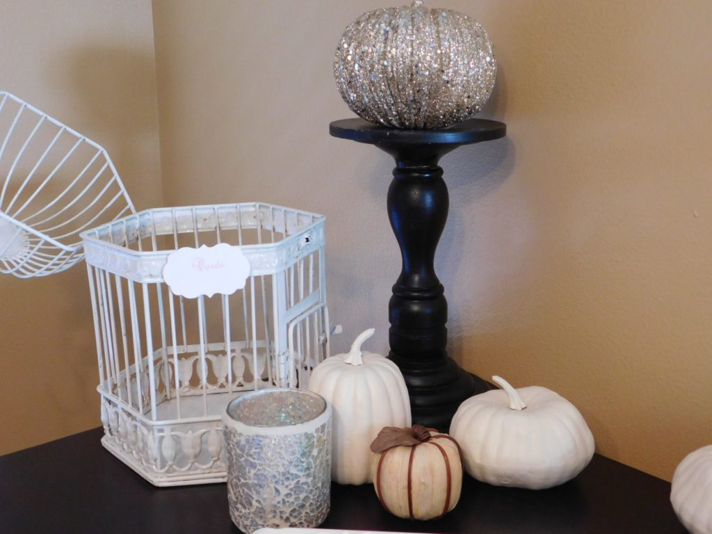 Pumpkin decor for Cinderella themed party party planning guide