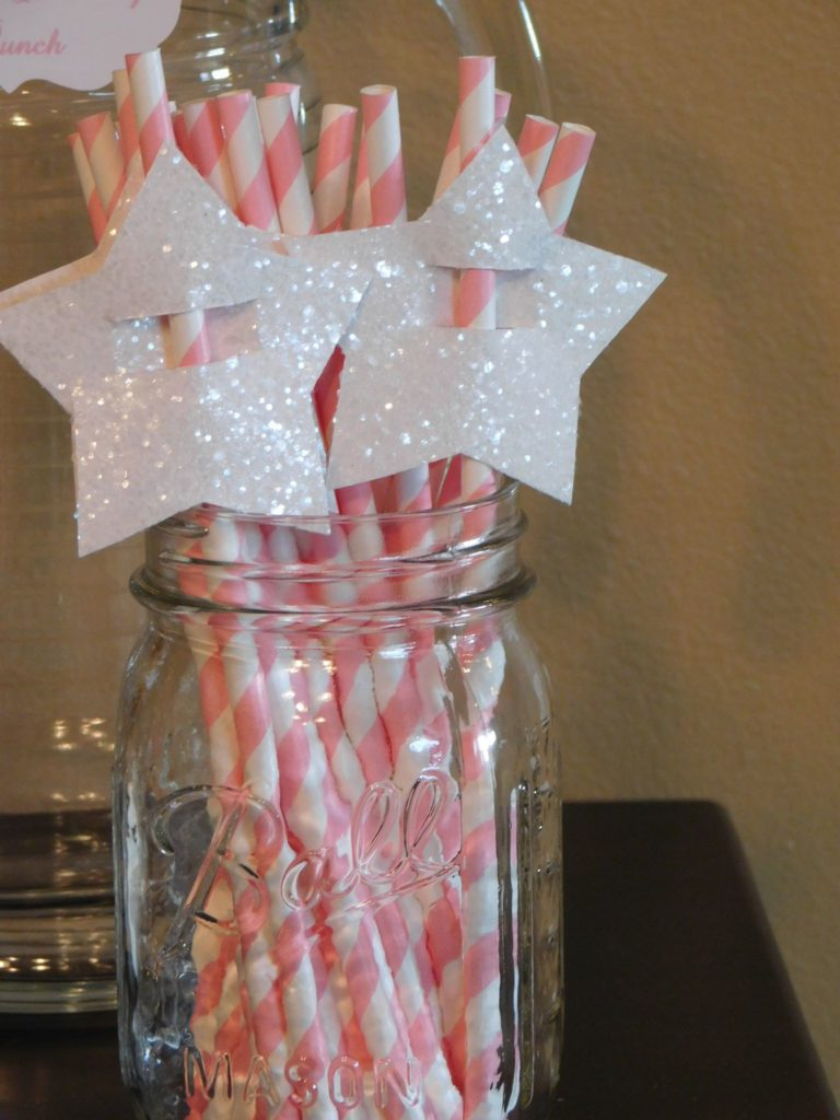 Cinderella themed birthday party with fairy godmothers wands