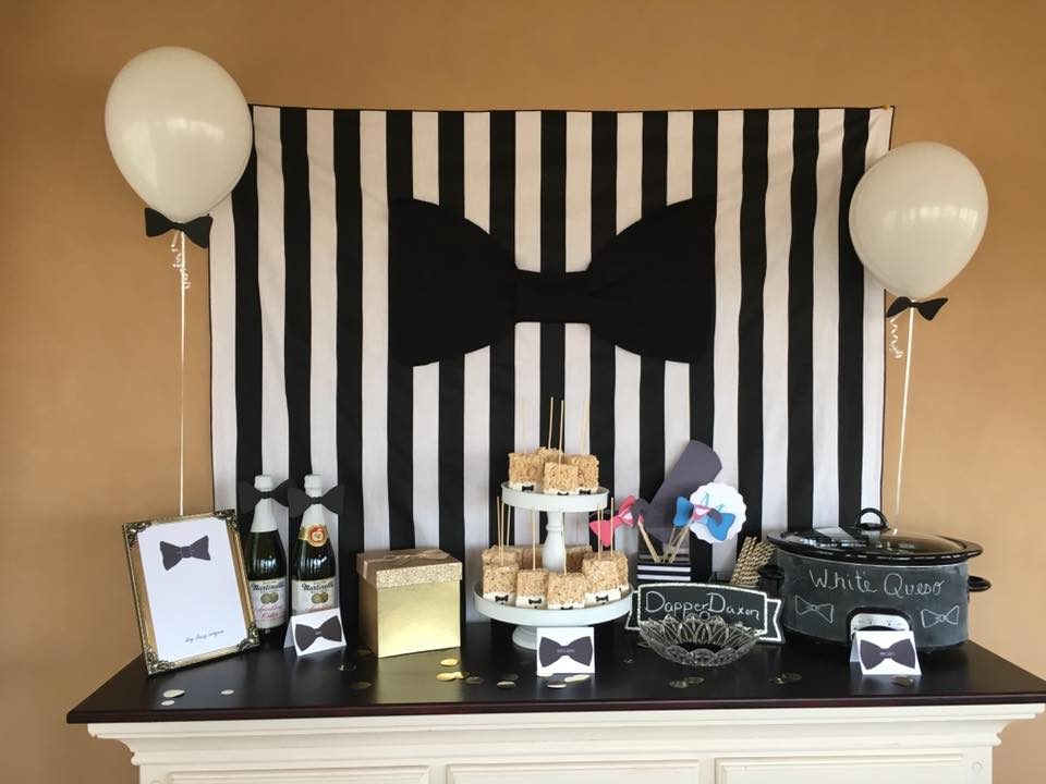 mr wonderful first birthday party dapper theme