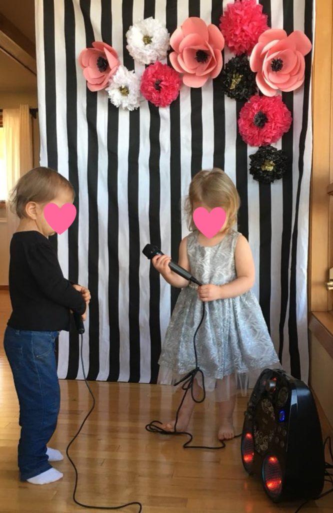 Karaoke Birthday party little girl party