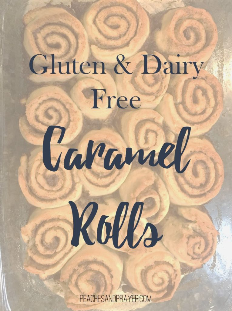 Dairy and Gluten Free Caramel Rolls Recipe
