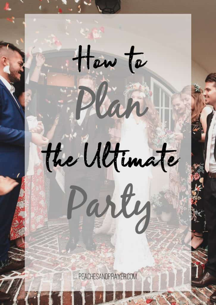The Ultimate Party Planning Guide for Party Planning
