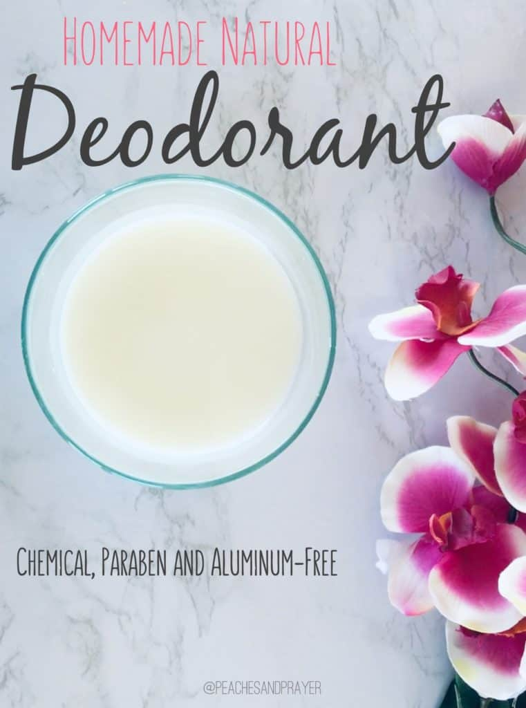 Natural Deodorant Recipe Essential Oils