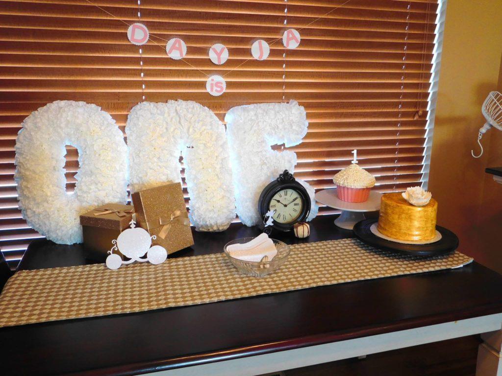 Cinderella Party First Birthday