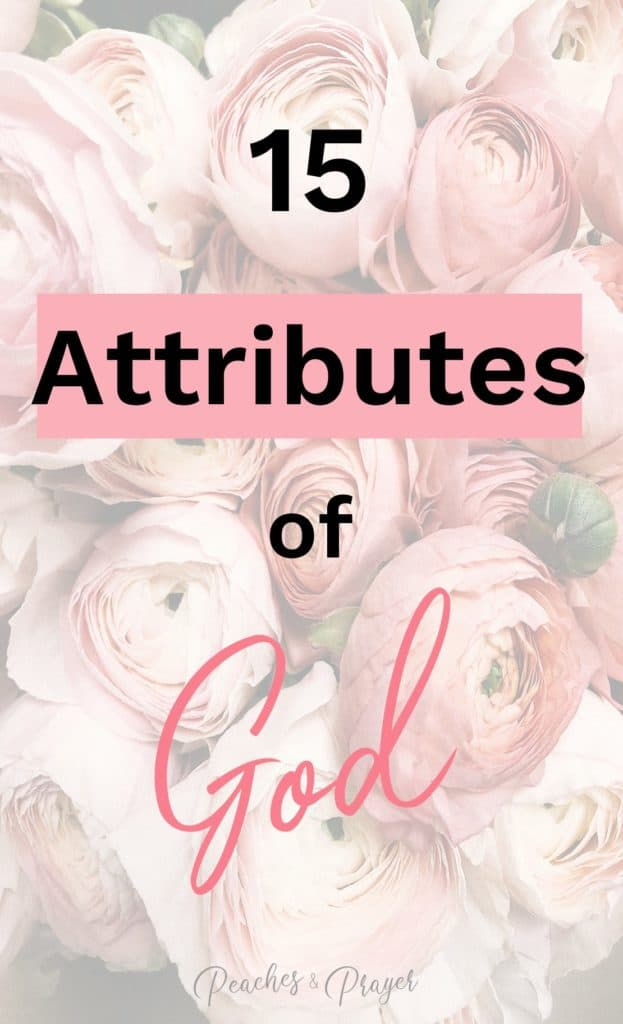 A list of Attributes of God for Journaling