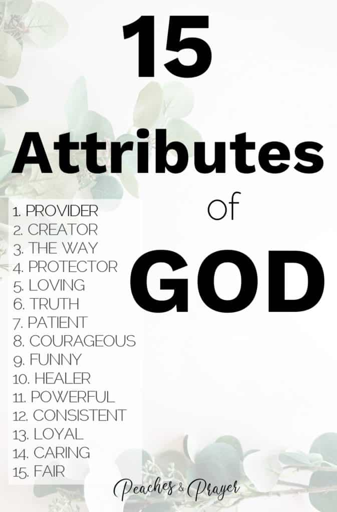 List of Attributes of God