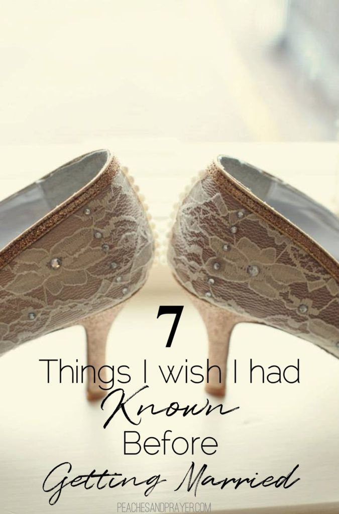 7 Things to know before getting married
