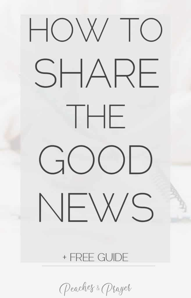 How to Share the Good News free guide