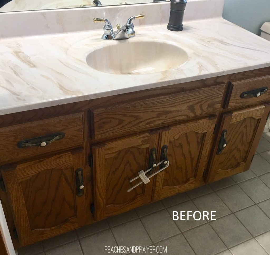 Updating an outdated vanity