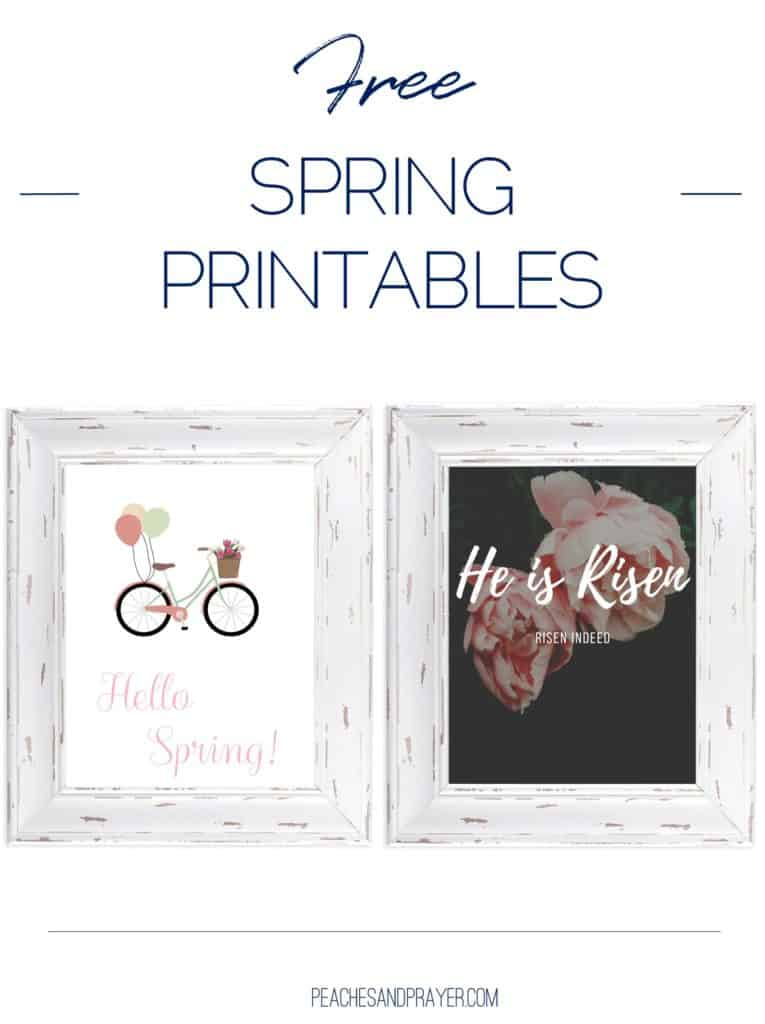 Easy Spring & Easter Wall Decor