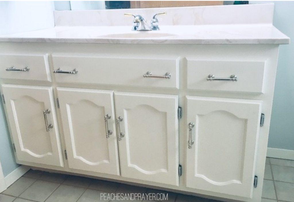 Updated bathroom vanity for $66