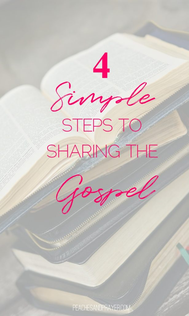 Learning to share the gospel