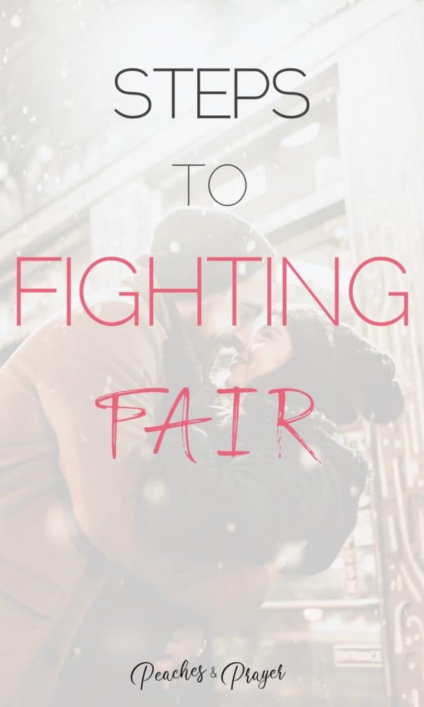 Steps to Fighting Fair