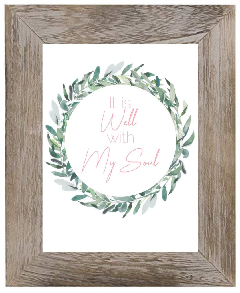 It is well with my soul printable