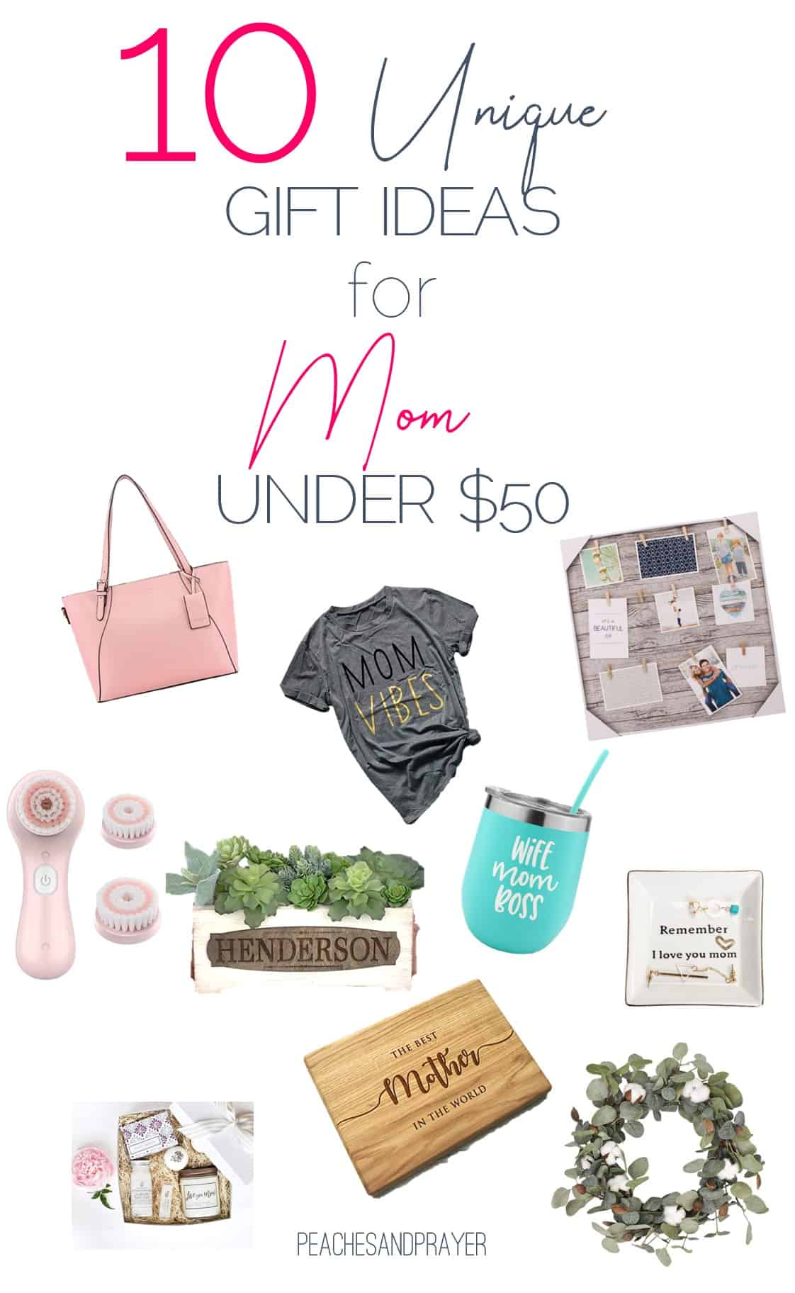 Uncommon gift ideas for mom