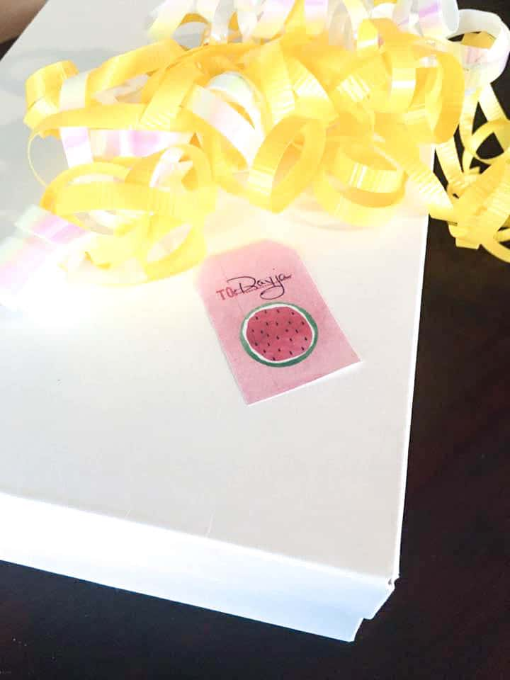 Gift Tags Paper Decor