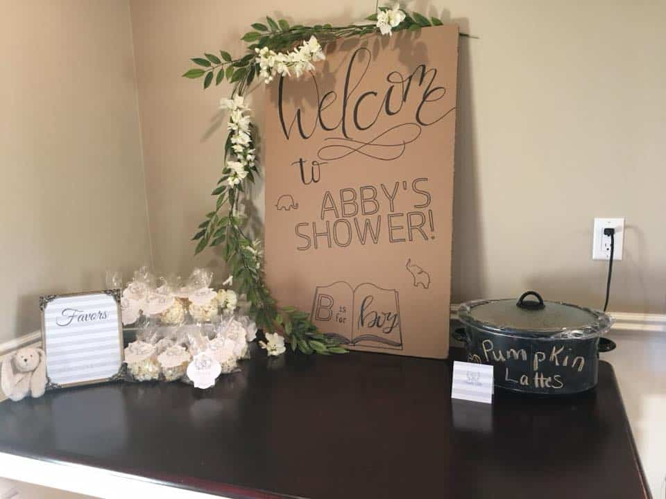 Paper Decor Party Signs