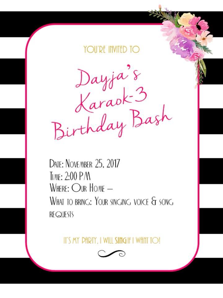 Paper Decor Invitation