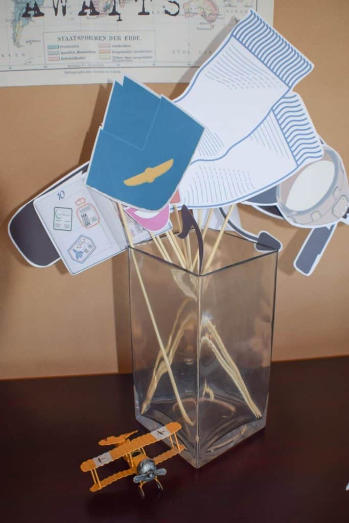 Photobooth Props Paper Decor