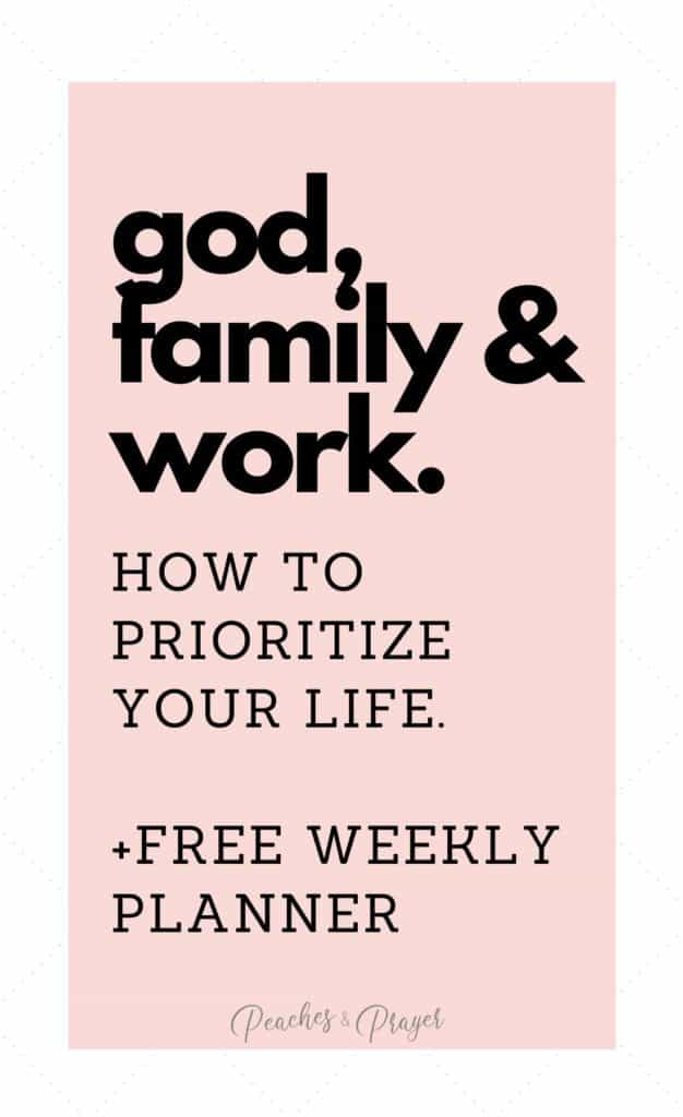 How to Trust God with your life even when you're busy