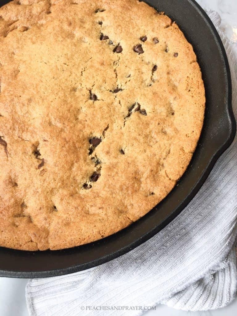 Gluten Free Dairy Free Cookie Cake