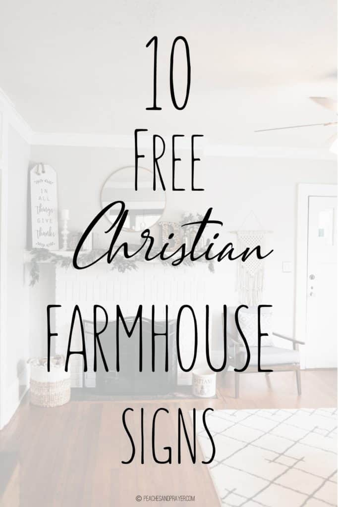 image about Free Printable Bible Verses Handwriting known as 10 Farmhouse Bible Verse Indications for Religious Advancement