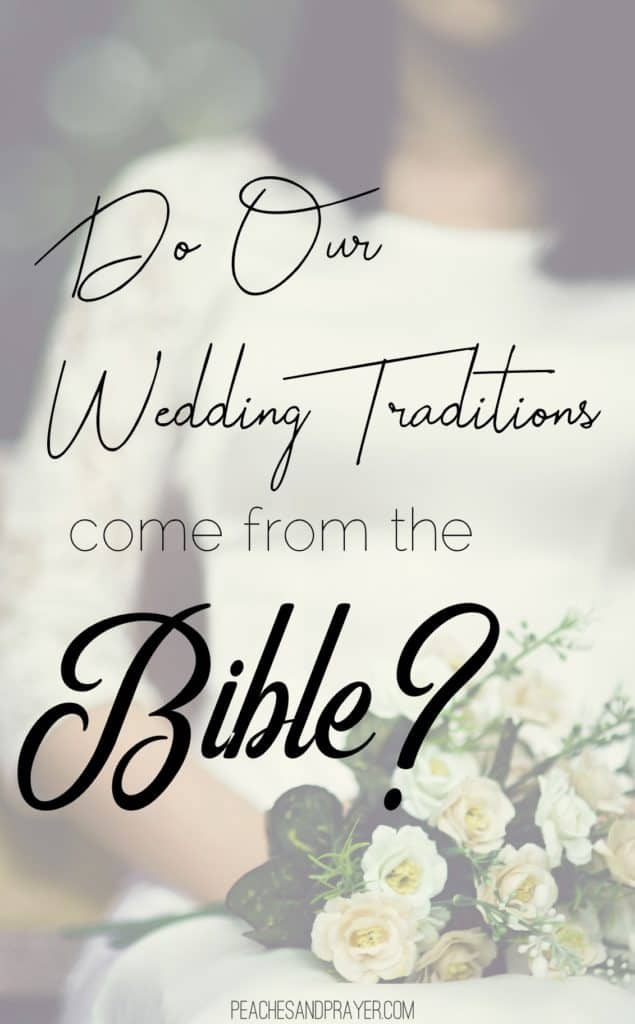 Christian Wedding Traditions and Ancient Jewish Weddings