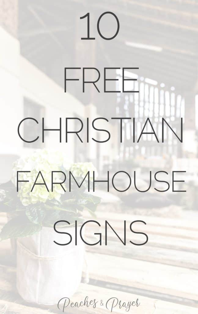 Easy DIY Farmhouse Signs for Decor