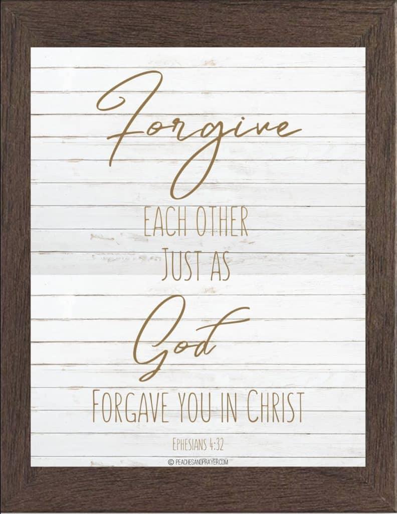 Christian Bible Verse Farmhouse Printables