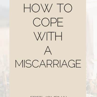 Coping with a Miscarriage: The Lonely Road
