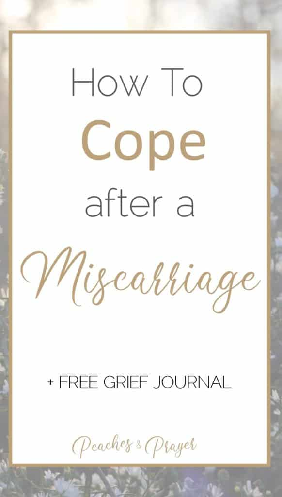 What to do after a miscarriage