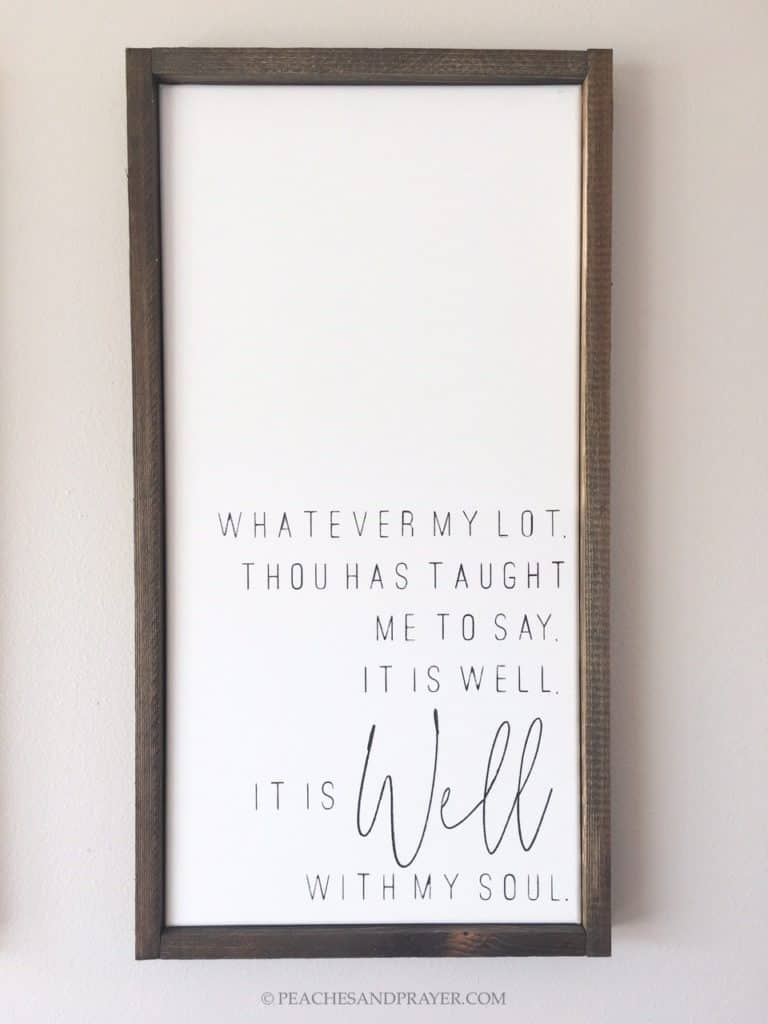 Christian Farmhouse Signs - DIY