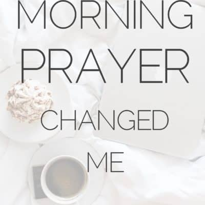 30 Days of 10 Minute Morning Prayer Prompts