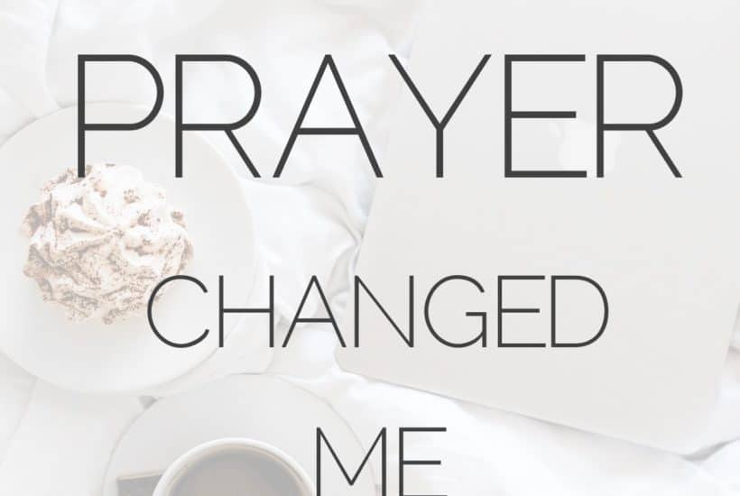 How morning prayer changed me plus free prayer prompts