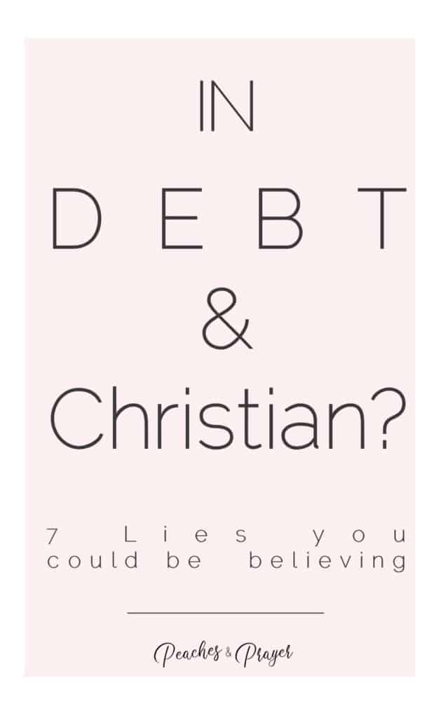 In Debt and Christian