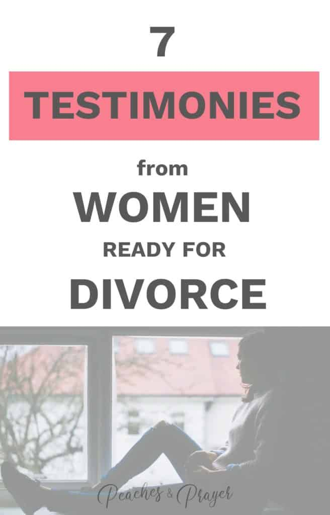 7 testimonies from women ready for divorce