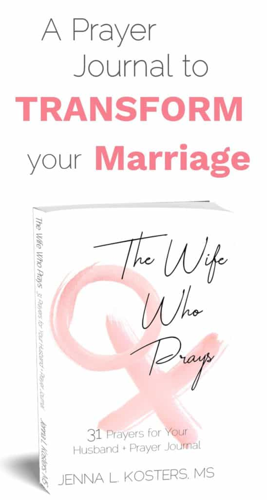 A prayer journal to Transform your Marriage